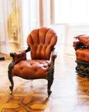 Luxuroius vintage arm-chair Stock Photo