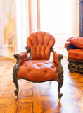 Luxuroius vintage arm-chair Royalty Free Stock Photography
