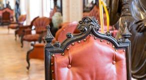 Luxuroius vintage chair Stock Photography
