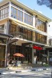 Luxurous restaurants in Gelendzhik Royalty Free Stock Image