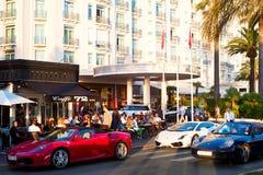 Luxuru Cannes Royalty-vrije Stock Afbeeldingen