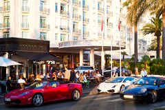 Luxuru Cannes Royalty Free Stock Images