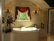 Luxury 1 - Bathroom 1 Royalty Free Stock Photos