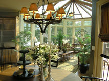 Luxury 21 sun room Royalty Free Stock Photography