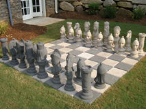 Luxury 26 chess yard Stock Photography