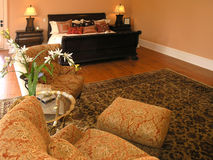 Luxury 5 - Bedroom 4 royalty free stock photo