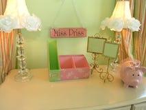 Luxury 5 - Girl Desk 2 Stock Photos
