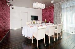 Luxury 5 star restaurant Royalty Free Stock Photography