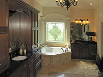 Luxury 7 - bath room 1 Royalty Free Stock Image