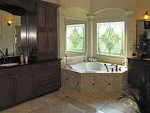 Luxury 7 - bath room 2 Royalty Free Stock Photography