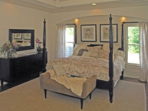 Luxury 7 - bed room 3 royalty free stock photo