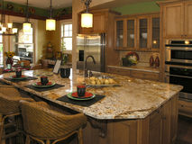 Luxury 9 - Kitchen 1 Royalty Free Stock Image