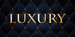 Luxury abstract quilted background Royalty Free Stock Images