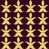 Luxury abstract seamless pattern Vector illustration Royalty Free Stock Photos