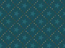 Luxury abstract star concept seamless pattern. Royalty Free Stock Photography