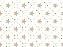 Luxury abstract star concept seamless pattern. Stock Photos
