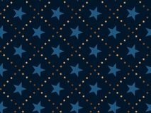 Luxury abstract star concept seamless pattern. Royalty Free Stock Photos
