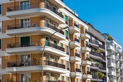 Luxury apartment buildings. Some luxury apartment buildings seen in Berlin Royalty Free Stock Photo