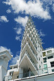 Luxury apartment exterior Stock Photo