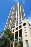 Luxury apartment exteriorbackground Stock Images