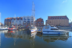 Luxury apartment houses in Gdansk, Poland Stock Photo