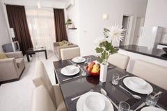 Luxury apartment interior design Royalty Free Stock Photo