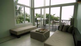 Luxury Apartment Interior stock video footage