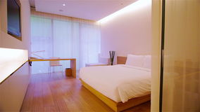 Luxury Apartment Interior stock footage