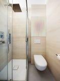 Luxury apartment, modern bathroom Stock Images