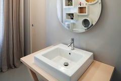 Luxury apartment, modern bathroom Stock Photos