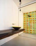 Luxury apartment, modern bathroom Royalty Free Stock Photo