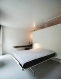 Luxury apartment, modern bedroom Stock Photo