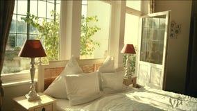 The luxury apartment stock video