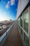 Luxury apartment terrace Stock Photo
