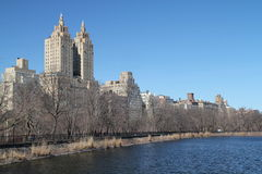 View on Central Park Royalty Free Stock Photography