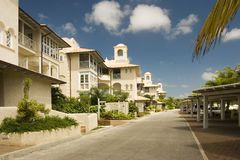 Luxury apartments. Some luxury apartments in Barbados Stock Images