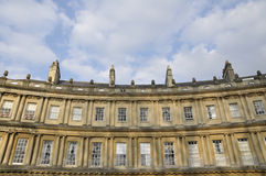 Luxury Apartments. Architectural Detail of Luxury Apartments in Bath Somerset Royalty Free Stock Photography