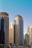 Luxury Apartments 2. Luxury Apartment towers in Dubai Marina Royalty Free Stock Photo