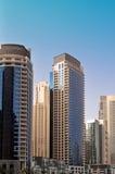 Luxury Apartments 2. Luxury Apartment towers in Dubai Marina royalty free stock photo
