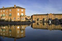 Luxury apartments, Brighton Marina royalty free stock photography