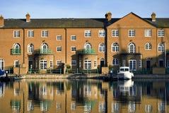 Luxury apartments, Brighton Marina royalty free stock photos