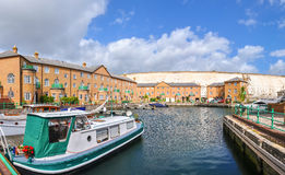 Luxury apartments at Brighton Marina Stock Images