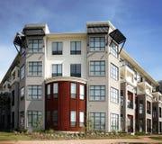 Luxury apartments (condo). Beautiful colorful modern apartment (condo) building Royalty Free Stock Photos