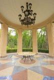 Luxury arbor. In the former residence of Yanukovych in Mezhyhirya, Ukraine Stock Photos