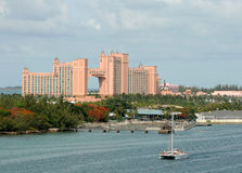 Luxury Atlantis resort in the Bahamas Royalty Free Stock Image