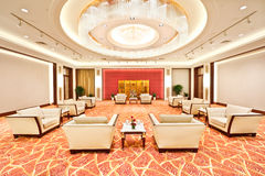 Luxury audience chamber Royalty Free Stock Photos