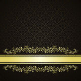 Luxury  Background decorated a Vintage ornament. Royalty Free Stock Image