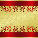 Luxury Background decorated a vintage ornament. Stock Image