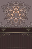 Luxury background with decorative patterns. Stock Images