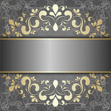 Luxury background with golden patterns Stock Photo